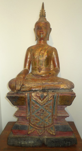 Lao Buddha on base