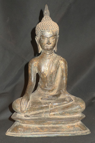 K3820-UT U Thong Buddha  Status : Inquire Click on picture for enlarge