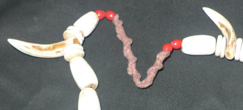 K3880-NX Shaman necklace  Status : Inquire Click on picture for enlarge