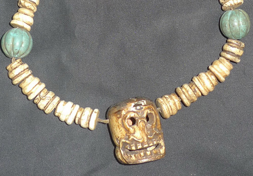 K3900-NX Shaman necklace  Status : Inquire Click on picture for enlarge
