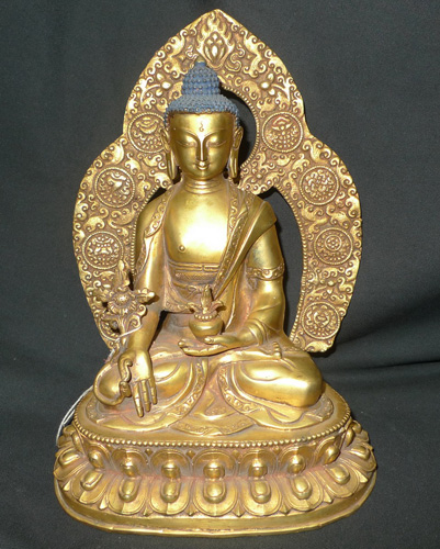 K4190-BT Medicine Buddha  Status : Inquire Click on picture for enlarge