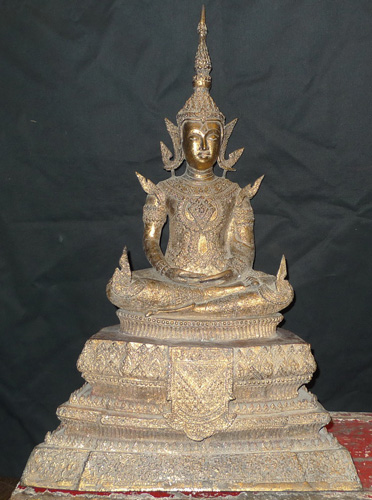 K4470-HT Ratanakosin Buddha  Status : Inquire Click on picture for enlarge