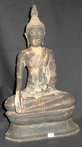K4560-UT U Thong Buddha  Status : Inquire Click on picture for enlarge