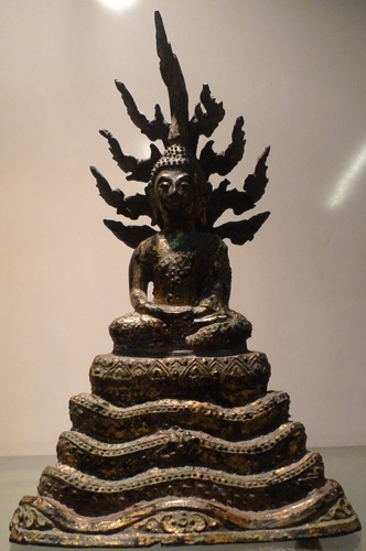 Ratanakosin Buddha under a 7 headed naga