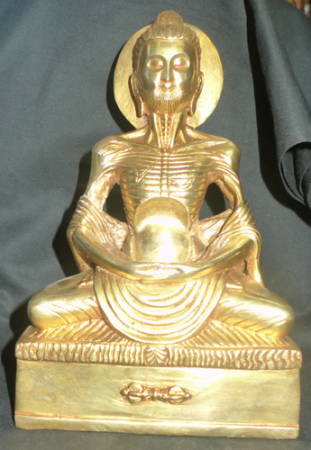 K4810-BT Extreme emaciated Buddha  Status : Inquire Click on picture for enlarge