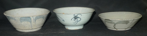 K4940-TR Set of 3 Ayutthaya bowls  Status : Inquire Click on picture for enlarge