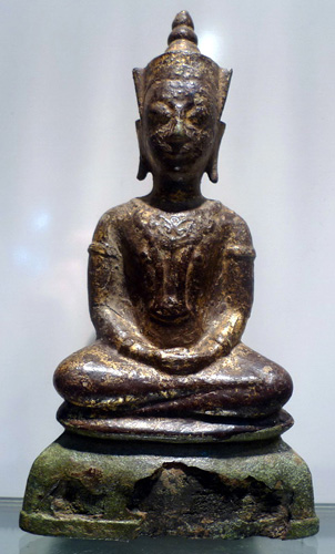 K5540-UT Ayutthaya Buddha giant amulet  Status : Inquire Click on picture for enlarge