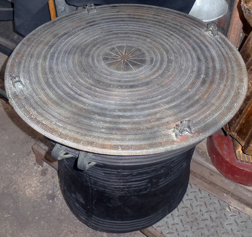 K6160-EA Antique rain drum  Status : Inquire Click on picture for enlarge