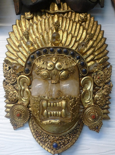 K6170-HS Deity Mask  Status : Inquire Click on picture for enlarge