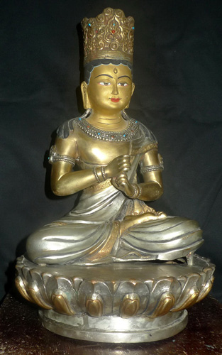 K6950-HS Jata Avalokiteshvara (matted hair)  Status : Inquire Click on picture for enlarge