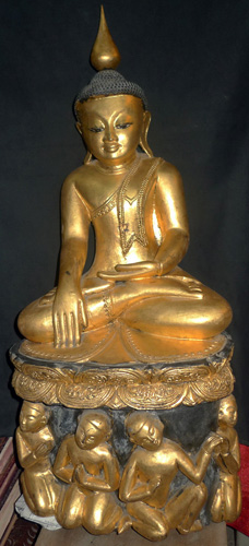 K7140-BJ Burmese Buddha  Status : Inquire Click on picture for enlarge