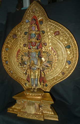 Thousand arms Avalokiteshvara