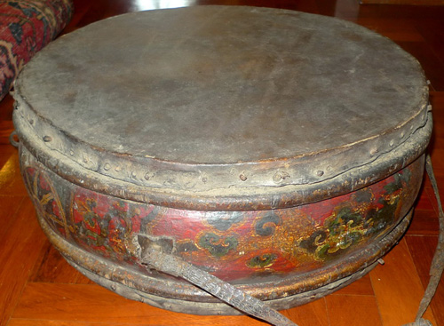 K7720-HS Temple drum (still good sound)  Status : Inquire Click on picture for enlarge
