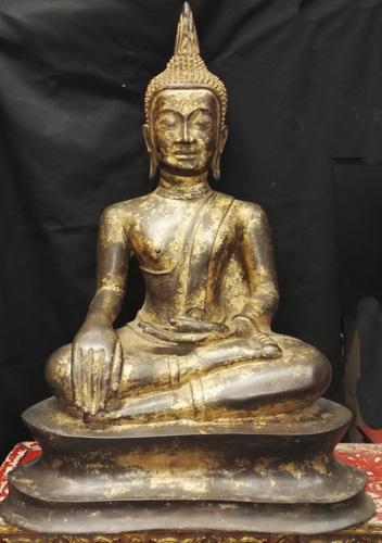 K7750-UT U Thong Buddha  Status : Inquire Click on picture for enlarge