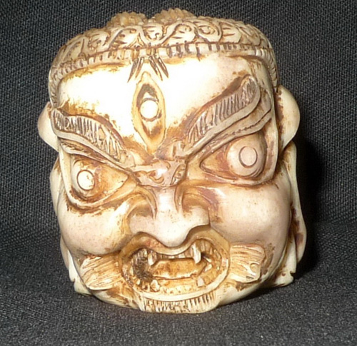 K8700-NX Mahakala head  Status : Inquire Click on picture for enlarge