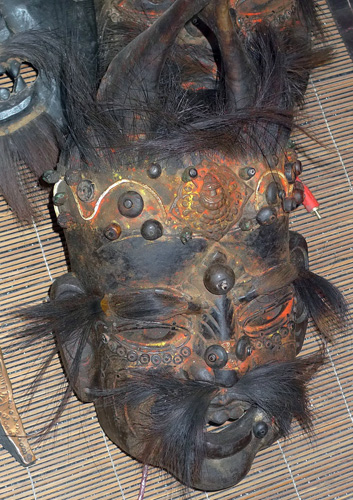 K8910-NX Shaman mask  Status : Inquire Click on picture for enlarge