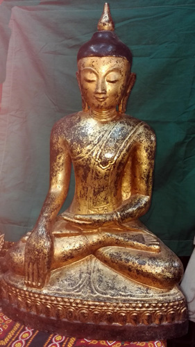 K9120-BB Shan Buddha  Status : Inquire Click on picture for enlarge