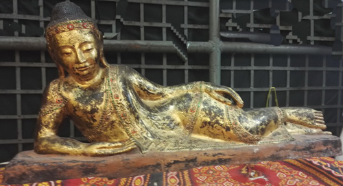 K9140-BB Reclining Buddha  Status : Inquire Click on picture for enlarge