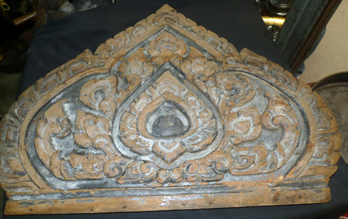Temple pediment