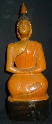 K9600-BL Painted Lao Buddha  Status : Inquire Click on picture for enlarge