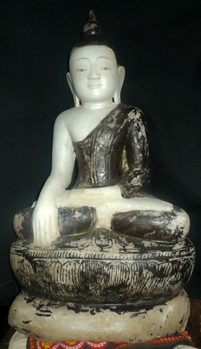 L0140-UE Ava Shan Buddha  Status : Available Click on picture for enlarge