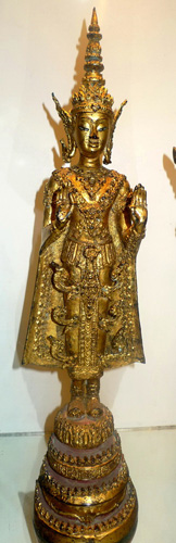 L0390-HT Ratanakosin Buddha  Status : Inquire Click on picture for enlarge