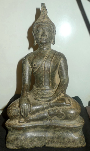 L0440-UT U Thong Buddha  Status : Inquire Click on picture for enlarge