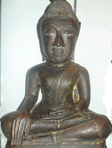 L0450-BL Big Lao Buddha  Status : Inquire Click on picture for enlarge