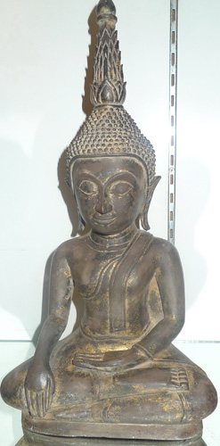L0500-BL Small Lao Buddha  Status : Inquire Click on picture for enlarge