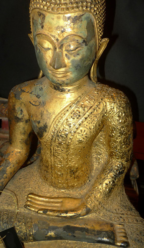 L0680-HT Ratanakosin Buddha  Status : Inquire Click on picture for enlarge