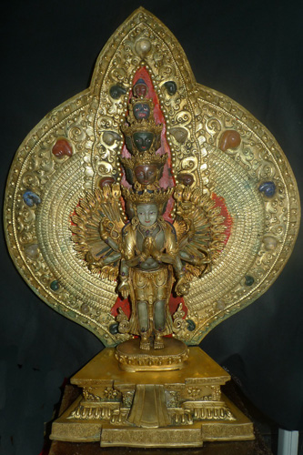 L0810-HS Thousand arms Avalokiteshvara  Status : Inquire Click on picture for enlarge