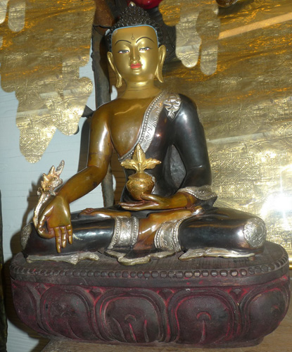 L0820-BT Tibetan Medicine Buddha  Status : Inquire Click on picture for enlarge