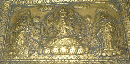 L1080-HC Buddhist votive plaque  Status : Inquire Click on picture for enlarge