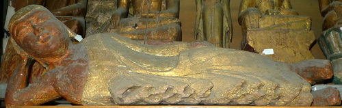 L1290-HG Reclining Buddha  Status : Inquire Click on picture for enlarge