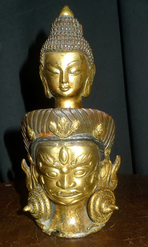 L1550-HS Buddhist double head  Status : Inquire Click on picture for enlarge