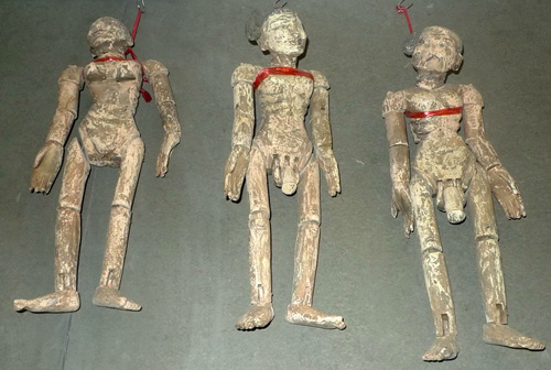 Naked marionettes (sold by one)