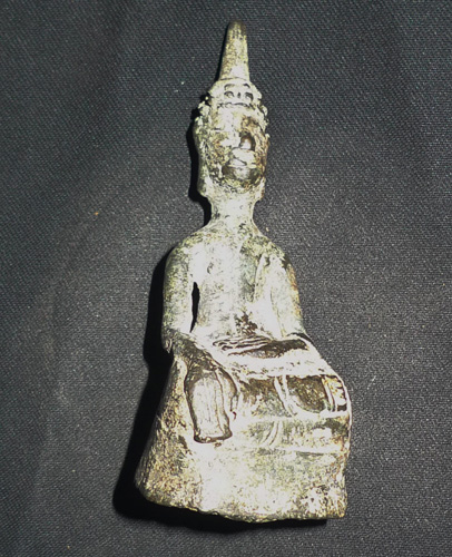 L2190-HG Big Amulet Lao Buddha  Status : Inquire Click on picture for enlarge