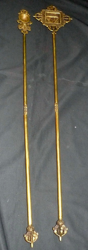 L2380-HC Pair of monk tools (spoon and mold)  Status : Inquire Click on picture for enlarge