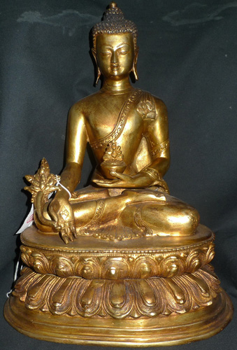 L2620-BT Medicine Buddha  Status : Inquire Click on picture for enlarge