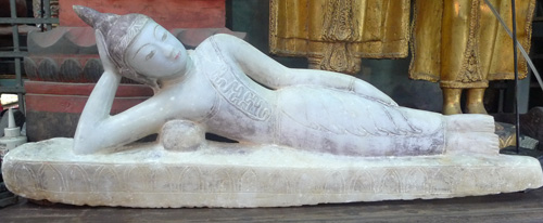 L2810-UE Reclining Ava Shan Buddha  Status : Inquire Click on picture for enlarge