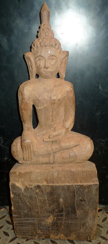 L2900-HG Folk Lao Buddha  Status : Inquire Click on picture for enlarge