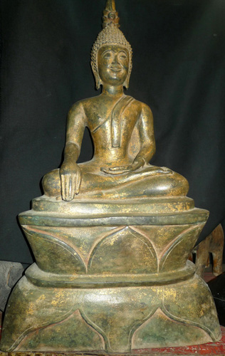 L2910-HG Lao Buddha  Status : Inquire Click on picture for enlarge