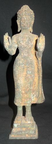 L3020-BL Thai Dvaravati Buddha  Status : Inquire Click on picture for enlarge