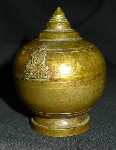 L4160-RE Ashes urn from Luang Pho Dum  Status : Inquire Click on picture for enlarge