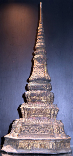 L4330-RE Stupa Chedi, Bangkok style  Status : Inquire Click on picture for enlarge