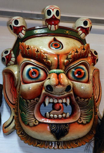 L4650-HW Giant Tibetan deity mask  Status : Inquire Click on picture for enlarge