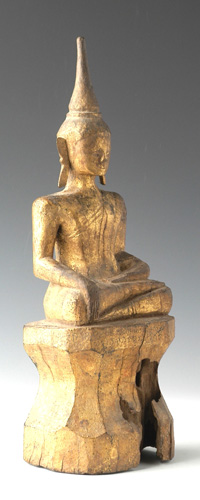 Folk Lao Buddha, located in Europe