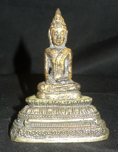 Antique Buddha on new base
