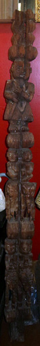 L5850-TB Magical carved pole  Status : Inquire Click on picture for enlarge