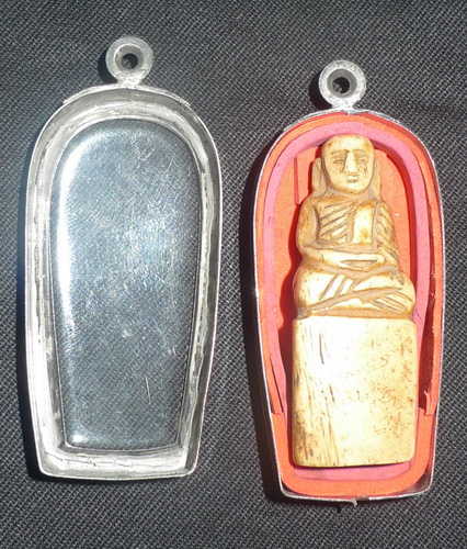 L6030-RE Buddha amulet  Status : Available Click on picture for enlarge